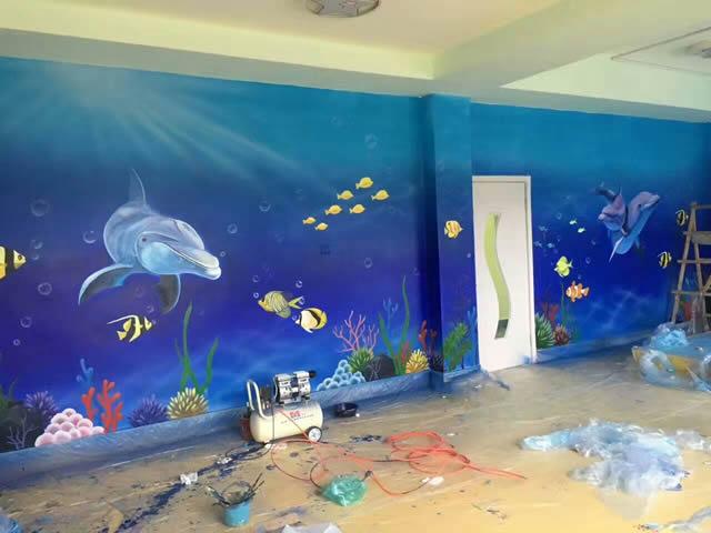 天天手绘(江西)有限公司,主营业务:墙绘,手绘墙,壁画