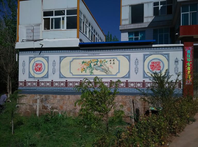 赣州美美墙体彩绘公司