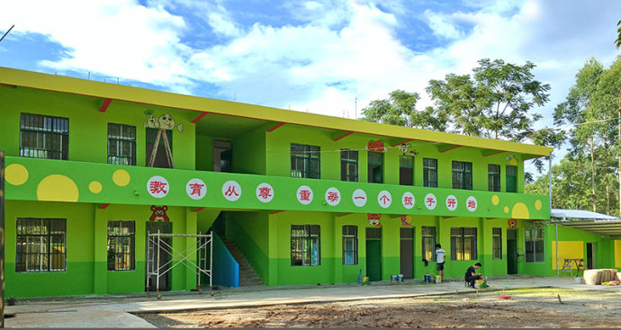 幼儿园墙体彩绘制作需要注意哪些事项呢?