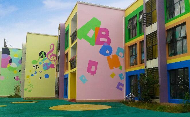 为什么那么多的幼儿园需要做墙绘呢?