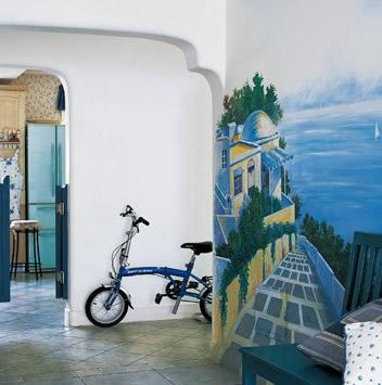 墙绘在制作的时候所用颜料有哪些特性呢?