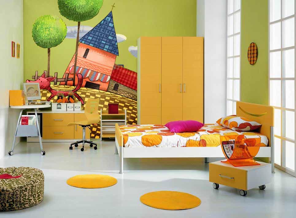 儿童房墙绘的时候需要注意哪些事项呢?