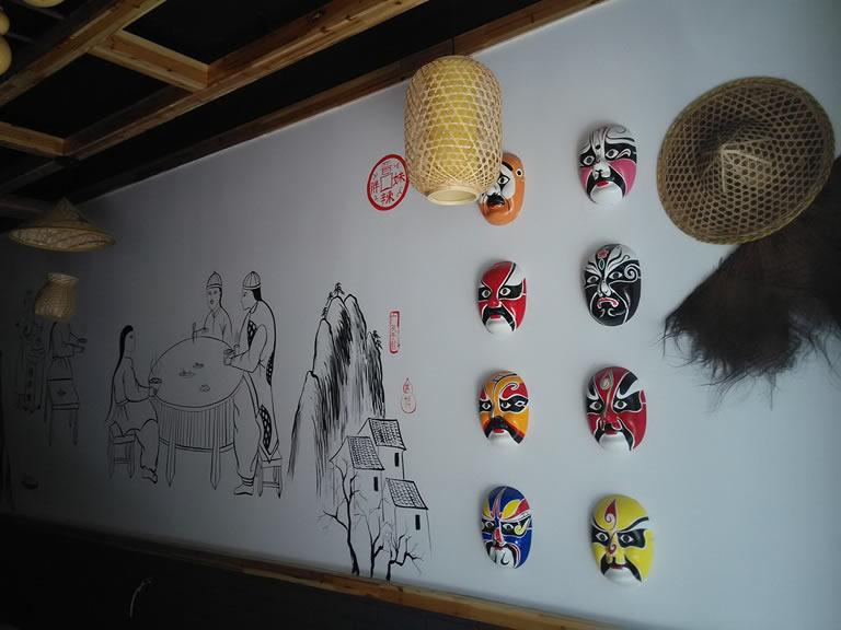 江西鑫磊墙体手绘、墙体彩绘、墙绘、手绘墙